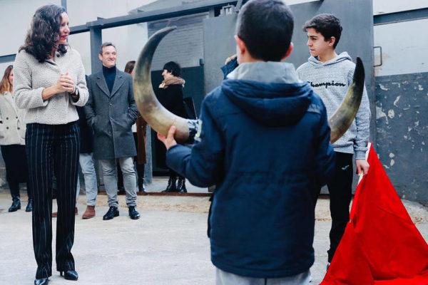 Eugenia Carballedo afirma que la Comunidad trabaja «con intensidad» para remodelar Las Ventas.