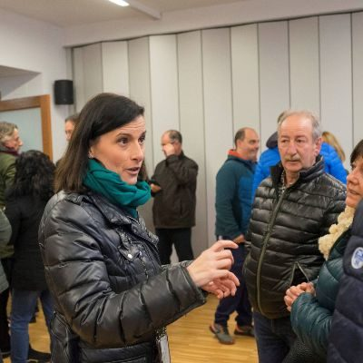 La alcaldesa de Santander, Gema Igual, conversa con vecinosEFE Entrevista. Gema Igual, alcaldesa de Santander: «Queremos blindar la tauromaquia.