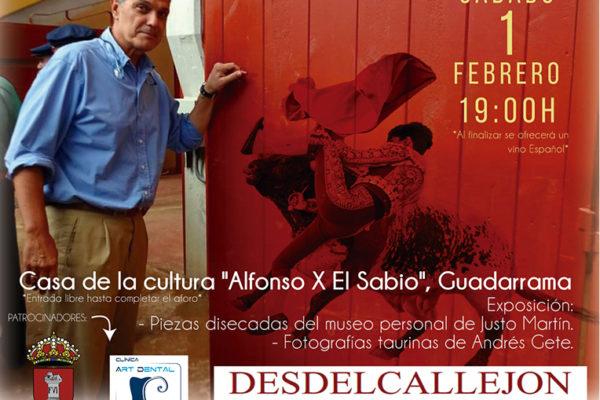 Interesante conferencia en Guadarrama con el Dr. Enrique Crespo.