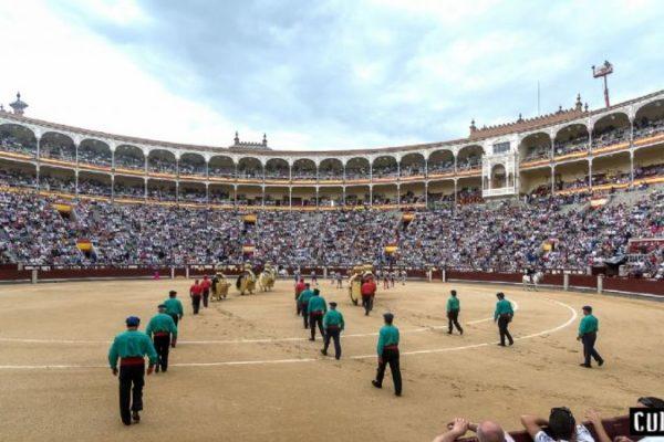 Los toros, la actividad cultural menos subvencionada por el Estado: apenas 65.000 euros.