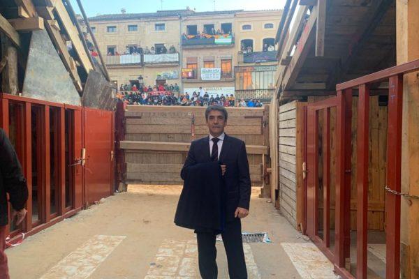 Victorino Martín cita a Ciudad Rodrigo como «ejemplo de tradición y defensa de las costumbres ancestrales.