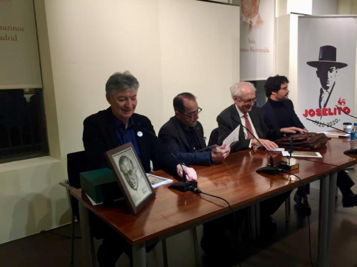 Esplá y Amorós inauguran a sala llena el homenaje a Joselito en Las Ventas.