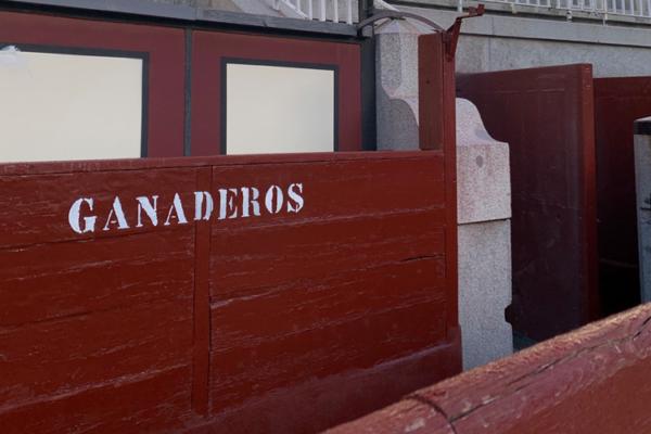 La Comunidad crea un burladero en el callejón de Las Ventas para los ganaderos