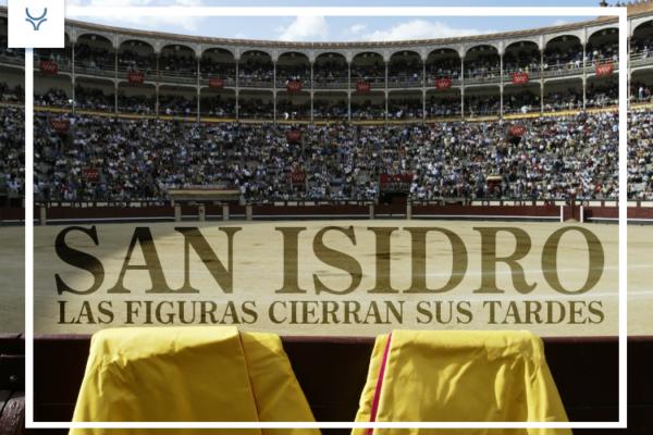 Las figuras cierran sus tardes en San Isidro.