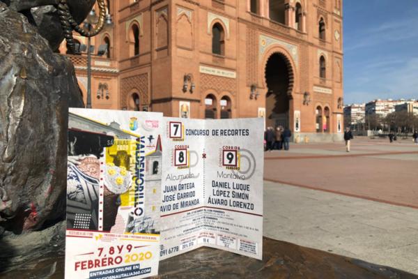 Valdemorillo llegan a Las Ventas.