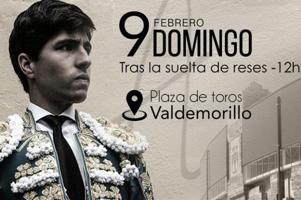 Álvaro Lorenzo impartirá una clase de toreo de salón en Valdemorillo.