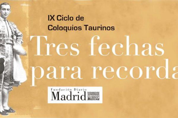 La Fundación Diario Madrid mantiene su ciclo taurino
