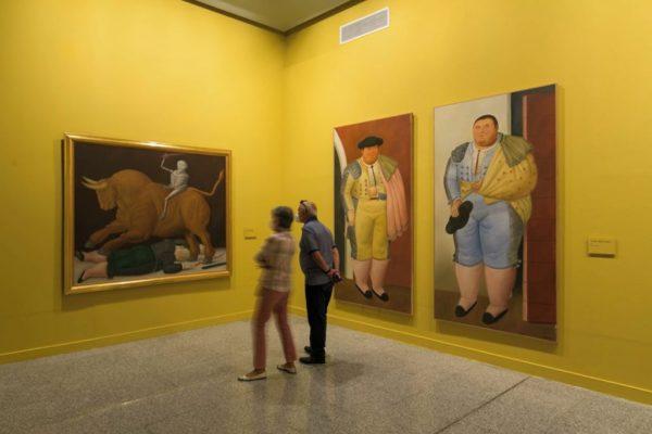 El pintor colombiano mundialmente reconocido muestra una vez más sin tapujos y muy orgulloso la temática de su obra inspirada en la tauromaquia